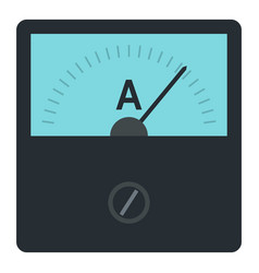 Gauge element icon isolated vector