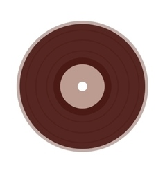 Vinyl disc isolated icon design vector