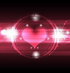 Cardiograph technology vector