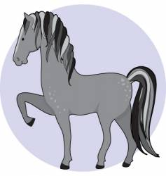 Horse dapple vector