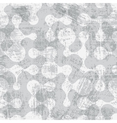 Abstract grunge seamless pattern vector image