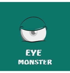 Eye monster vector