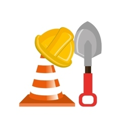Hammer construction tool device icon vector