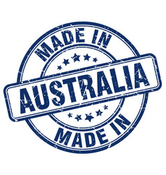 Made in australia vector