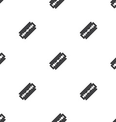 Razor seamless pattern vector
