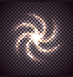 Spiral galaxy vector