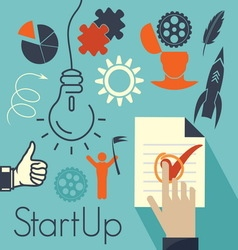 Startup1 resize vector