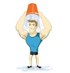 Ice bucket challenge vector