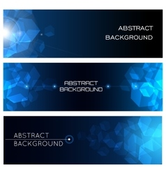 Abstract horizontal background set vector