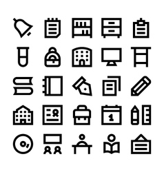 Education school and learning icons 3 vector