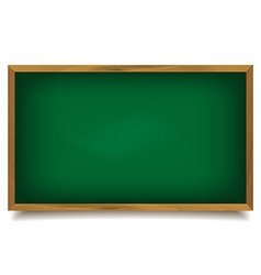 School green Board vector image vector image