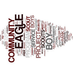 The evidence of eagles text background word cloud vector