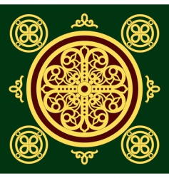 Christian orthodox pattern vector