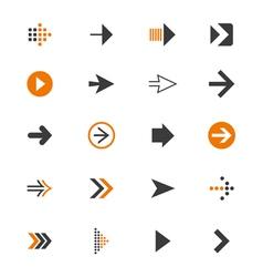 Arrow icon9 vector image
