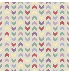 Aztec chevron seamless colorful zigzag pattern vector
