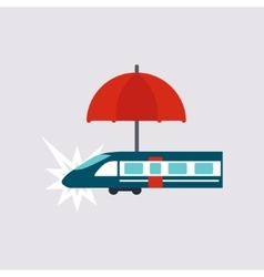 Travel insurance vector
