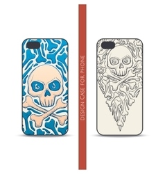Design Case for Phone One vector image vector image