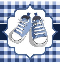 kids sneaker vector image vector image