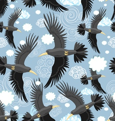 Pattern of the black rooks vector