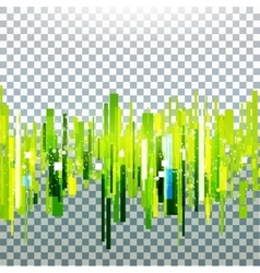 Straight green lines vector image vector image