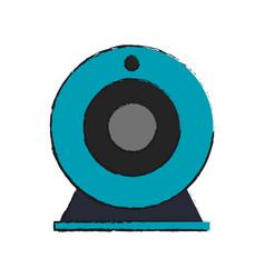 web cam icon vector image