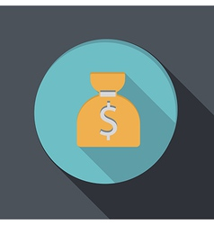 Banking financial icon in flat design vector
