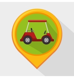 Golf club sport game graphic vector