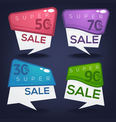 Super sale collection of bright discount bubble vector