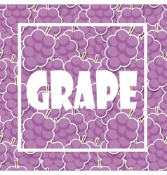 Background from grapes vector