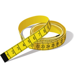 Tape measure vector