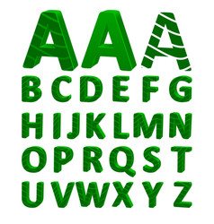 Cartoon font full alphabet vector