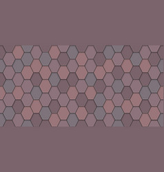 Old roof tiles vector