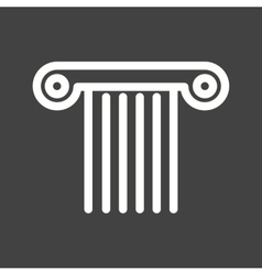 Pillar vector image vector image