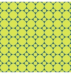 Polka dot geometric seamless pattern 2506 vector image vector image