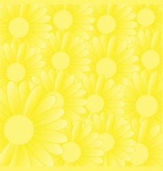 Sunflower background vector