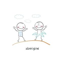 aborigine vector image vector image