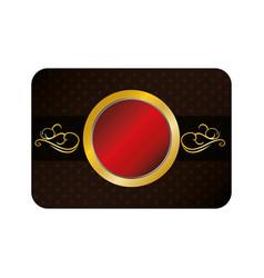 Business presentation card vector
