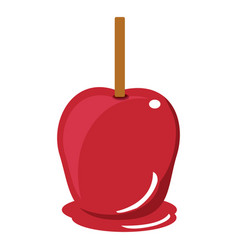 Candy apple icon vector