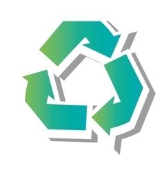 Go green ecology theme design vector