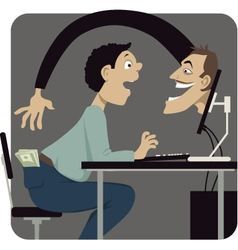 Internet scam vector