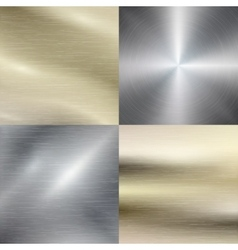 Polished metal steel texture background vector