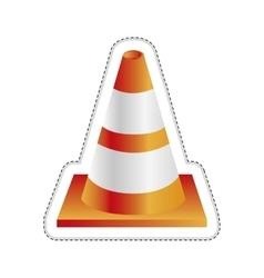 Traffic cone icon image vector