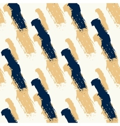 Seamless pattern with diagonal black and gold vector