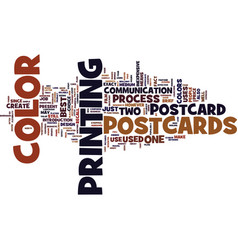 Are postcards worth their price text background vector