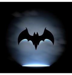 Bat sign vector image vector image