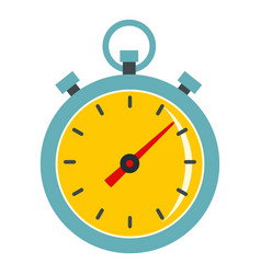chronometer icon isolated vector image