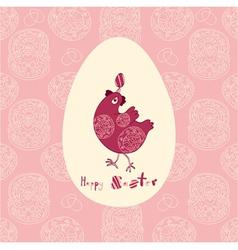 Easter juggling egg vector image vector image