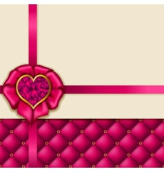 Elegant template luxury invitation vector image