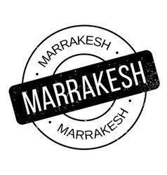 Marrakesh rubber stamp vector