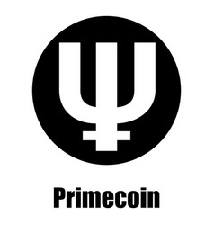Primecoin icon simple style vector